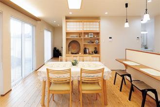 和洋折衷の空間デザイン